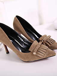 Camel black fashion shoes, pointed shoes, high heels