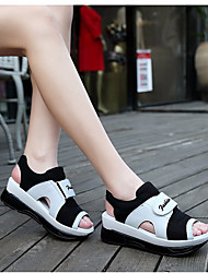 Women's Sandals Summer Gladiator Fabric Athletic Casual Flat Heel