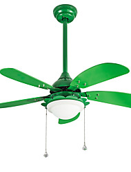 Ceiling Fan ,  Modern/Contemporary Painting Feature for LED Designers Metal Study Room/Office Kids Room