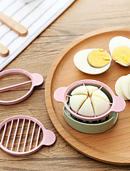 Green Stalks Cut Mixer Triad Multifunction Fancy Preserved Egg Divider Cut Eggs Open Artifact Color Random