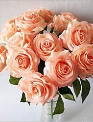 5 Heads Silk Roses Tabletop Flower Artificial Flowers