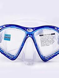 Máscaras de mergulho Protecção Mergulho e Snorkeling Fibra de Vidro Silicone