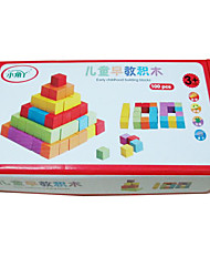 Blocos de Construir Blocos Lógicos para presente Blocos de Construir Brinquedos Criativos & Pegadinhas Quadrangular2 a 4 Anos 5 a 7 Anos