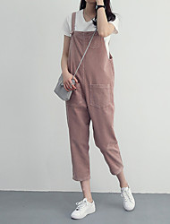 Corduroy overalls loose straight college wind loose casual trousers pantyhose