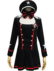 One-Piece/Dress Sweet Lolita Lolita Cosplay Lolita Dress Fashion Long Sleeve Short / Mini Dress For