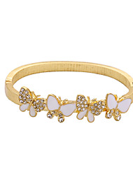 Women's Bangles Friendship Fashion Alloy Animal Shape Gold Jewelry For Anniversary Gift Valentine 1pc