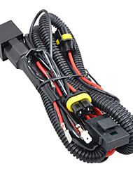 H1/H3 HID Xenon Relay Wire Wiring Harness with Fuse
