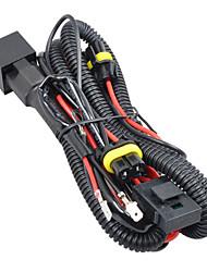 H1 / h3 caché câblage de fils de relais xénon avec fusible