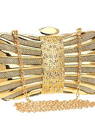 Damen Taschen Ganzjährig Polyester Abendtasche mit Metallic für Hochzeit Veranstaltung / Fest Formal Blau Gold Schwarz Silber Rote