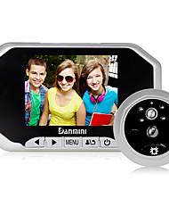 Danmini 3,5-дюймовый hd экран дизайн для 160 градусов широкий угол пир обнаружения движения супер ночного видения глаз зрителя.