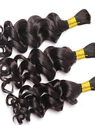 Bundle cheveux Cheveux Brésiliens Ondulation profonde 3 Mois 3 Pièces tissages de cheveux