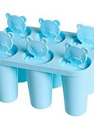 6pcs per Group Mold for Ice Silicone Ice Cream Mold