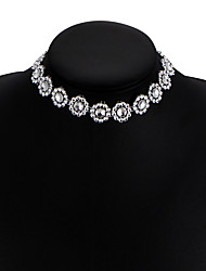 New Women's Choker Necklaces Diamond Star Alloy Unique Design Bikini Jewelry For Wedding Party Daily Casual 1pc