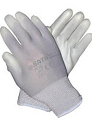 9 PU Sata Grey Palm Coated Gloves Industrial Protection /1