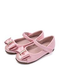Girls' Loafers & Slip-Ons Spring Fall Ballerina Microfibre Dress Casual Flat Heel Blushing Pink Black Gold