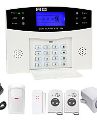 Danmini  LCD Wirless GSM/PSTN Home House Office Security Burglar Intruder Alarm System