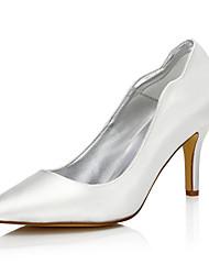 Women's Wedding Shoes Fall Winter Club Shoes Comfort Silk Wedding Outdoor Office & Career Party & Evening Dress Stiletto Heel