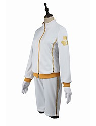 Inspired by Cosplay Cosplay Video Game Cosplay Costumes Cosplay Suits Cosplay Tops/Bottoms Fashion Long Sleeve Coat Blouse Pants Shorts
