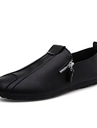 Homme Chaussures Similicuir Printemps Eté Automne Hiver Confort Mocassins et Chaussons+D6148 Marche Fermeture Pour Athlétique Décontracté
