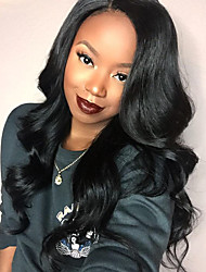 Glueless Lace Front Wig Brazilian Virgin Human Hair Body Wave Lace Wig  with Baby Hair