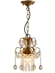 Závěsná světla ,  moderní - současný design Tradiční klasika Venkovský styl design Tiffany Retro Země Obraz vlastnost for Křišťál LED Kov
