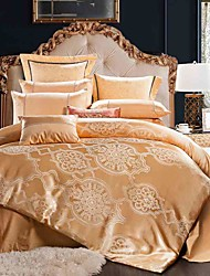 4 peças roma estilo jacquard nobreza de alta qualidade de seda cama fundamento duvet cover set