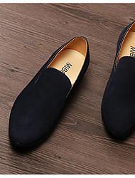Herren-Sneakers Frühjahr Komfort Leder Wildleder Casual Screen Farbe navy blau schwarz