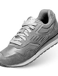 Herren-Sneakers Frühling Komfort Tüll lässig grau dunkelblau schwarz