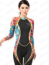 HISEA® Women's 1mm Wetsuits Dive Skins Full Wetsuit Anti-Eradiation Nylon Neoprene LYCRA® Diving Suit Long Sleeve Diving Suits-Swimming