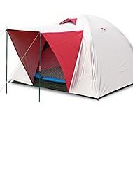 3-4 Pessoas Duplo Um Quarto Barraca de acampamentoCampismo Viajar-Branco