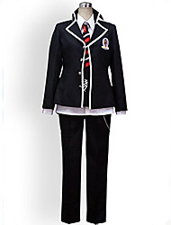 Inspired by Blue Exorcist Rin Okumura Anime Cosplay Costumes Cosplay Suits Solid Long Sleeve Coat Shirt Pants Tie For