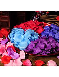 Accesorios del partido Pétalo No tejidoFiesta de Despedida de Soltera Baby Shower Cumpleaños San Valentín Acción de Gracias Pedida de