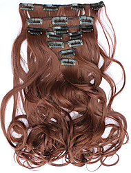 Clip In Synthetic Hair Extensions Hair Extension