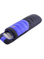 Спальный мешок Прямоугольный Односпальный комплект (Ш 150 x Д 200 см) -35-25- Утиный пухX80 Походы На открытом воздухе Сохраняет тепло