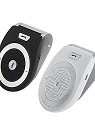 Kit vivavoce per auto bluetooth per il rumore speakerphone di iphone annullamento clip wireless sulla visiera sole portatile auto audio