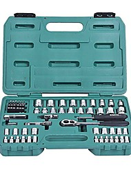 SATA® 09011 65PC 6.3x10mm Professional Wrenches Tool Set with Tool Box