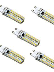 5W G9 G4 G8 GY6.35 Luci LED Bi-pin T 80 SMD 4014 400-500 lm Bianco caldo Luce fredda Intensità regolabile AC110 AC220 V 5 pezzi