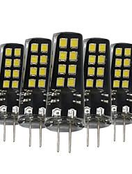 3W G4 Luci LED Bi-pin 16 SMD 2835 200-300 lm Bianco caldo Bianco Decorativo V 5 pezzi