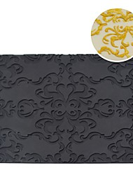 Fondant Impression Mat Cake Mousse Mat Carving Design Mousse Mold Cake Decoration Cake Mold Lace Mat Baking Pastry Tools MCT-12