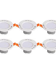 LED Encastrées Blanc Chaud Blanc Froid LED 6 pièces