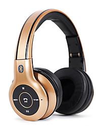 Soyto nk-s550 casque stéréo sans fil bluetooth casque fm audio tf carte écouteur fonctionnant avec microphone pour xiaomi tous les