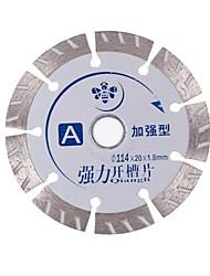 Forte microfone ranhurado a (reforçado) 114 * 20 * 1,8 mm / pcs