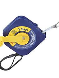 Blue Round Square Box Long Tape Measure 15M * 12.5Mm (Gw-1508-1)