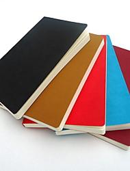 Imitation Leather A5 Notebook Random Color