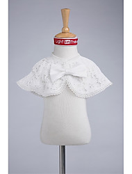 Kids' Wraps Capelets Lace Wedding Party/Evening Bow Lace