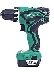 Hitachi 10.8v carregamento broca 6.35mm chave de fenda ds10dal