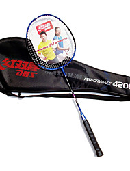 Badmintonschläger Dauerhaft Kohlefaser Ein Paar für