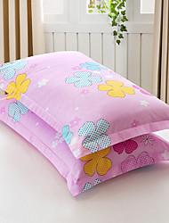 Cubierta floral del duvet fija algodón de la impresión del patrón del algodón del algodón de 2 pedazos / poliéster reactivo del algodón de