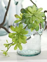 1 Branch Plastic Plants Tabletop Flower Artificial Flowers 17*4cm