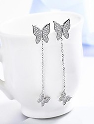 Drop Earrings Basic Pendant Copper White Jewelry For Daily Casual 1 pair